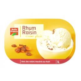 GLACE RHUM RAISINS BAC 1L...