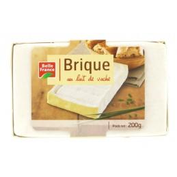 BRIQUE DE VACHE 200G BELLE...