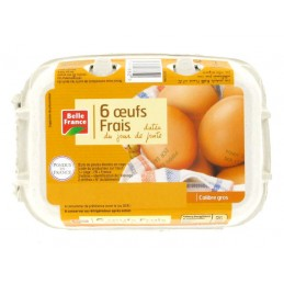 OEUFS GROS X6 BELLE FRANCE